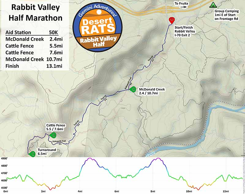Rabbit Valley Half Marathon